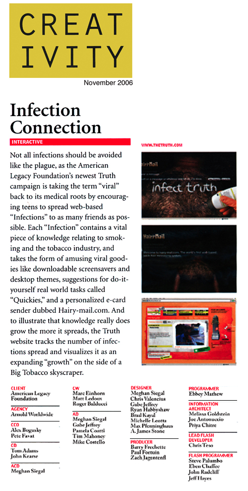 Creativity Mag November 06