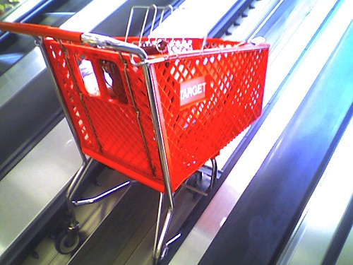 Shopping Cart Escalator