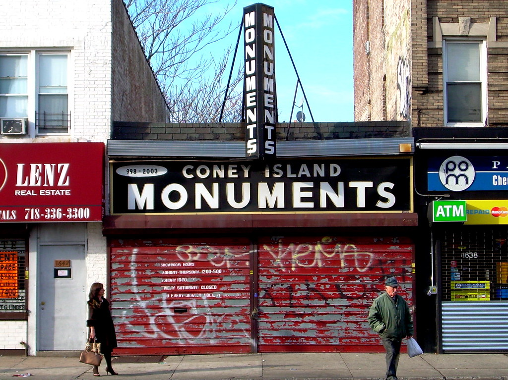 monuments, midwood