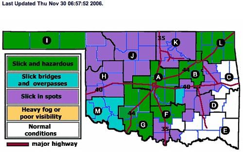 Icebound in Oklahoma!