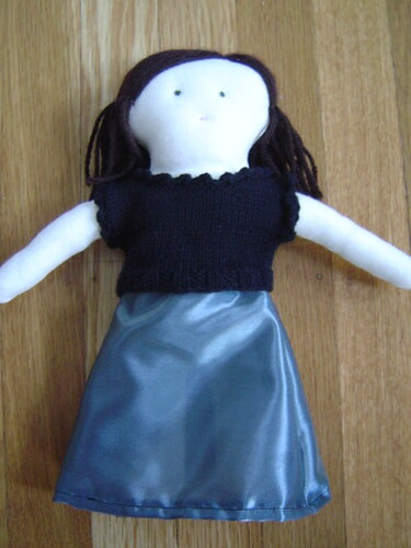 doll in fancy dress