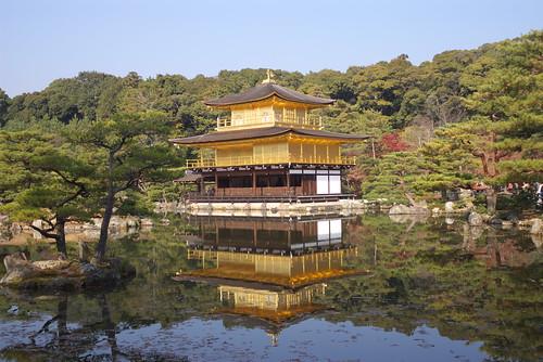 Kinkakuji temple (金閣寺)