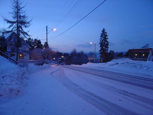 Vinter på Fjellstrand
