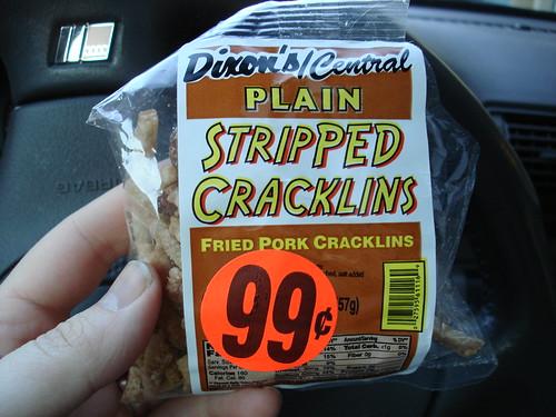 Dixon's/Central Plain Stripped Cracklins