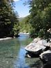 Fluss bei den Fantail Wasserfällen