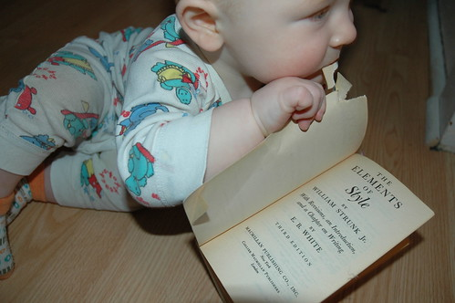 Baby Bibliophile - Elements of Style Edition V