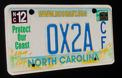 new license plate: 0x2A