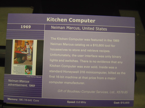 Kitchen Computer - Description