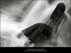 An Abstract with A Fall photo by rkmenon