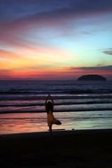 sunset salute
