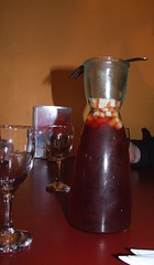 Carafe of Sangria ($14) Pot of Gold Mexican Cantina, Wollongong