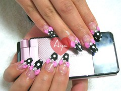 Kawaii deco nails photo by aya1gou