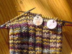Kitchener Stitch Marker