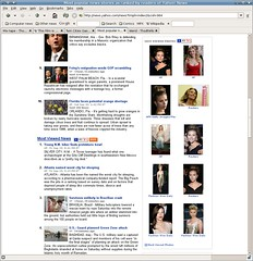 Scarlett's popular on Yahoo...