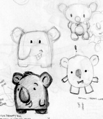 Koala Sketches photo by V. Rosete