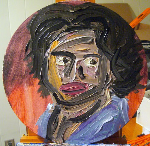 Oprah In Oil