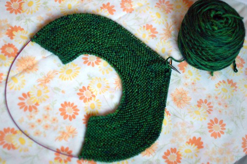 February Baby Sweater (EZ) - Yoke 2