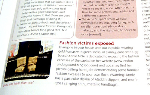Fashion Victims in Print - With Kids Magazine