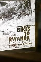 Bikes to Rwanda flyer