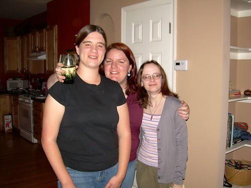 Jolene, Amie and Jen