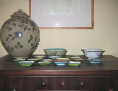 enamel dish collection