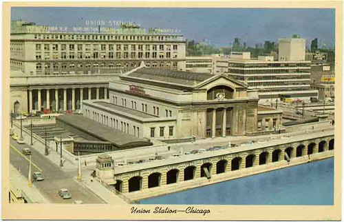Postcard:  Chicago's Union Station