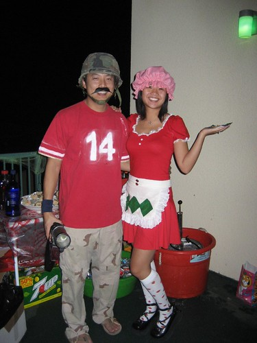 "We attended an ""80&squot;s Cartoon Character"" halloween party this past Saturday,"