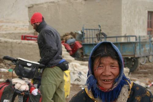 Namru village. Western Tibet.