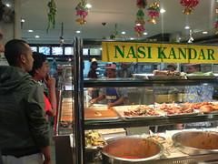 5-curry Rice at KL's Nasi Kandar Pelita