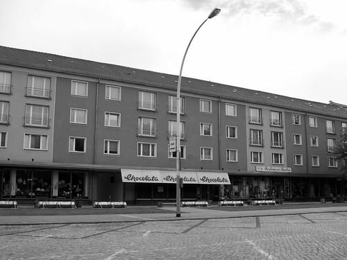 Lindenalle in Eisenhüttenstadt