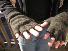 shiny new gloves!