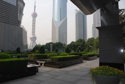 Shanghai : skyscrapers