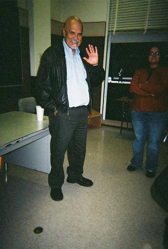 Professor & Poet, Alfred Arteaga, UCB 10/9/06