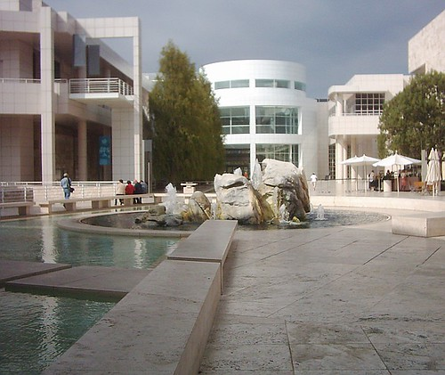 Getty Center central water feature