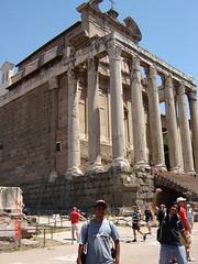 Tempio di Antonino e Faustina di Roman Forum, Rome, Italy