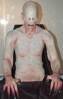 Maqueta original del monstruo comeniños, de El Laberinto del Fauno