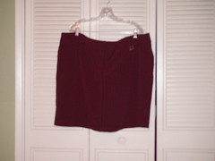 Red Miniskirt - LB 26 - $7