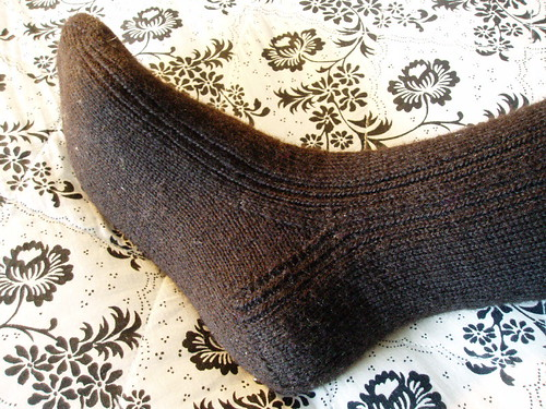 estonian sock heel
