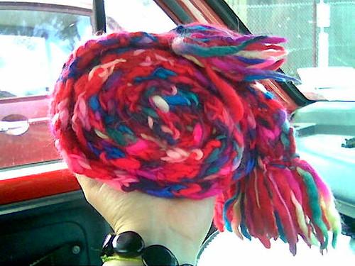 spiral col scarf