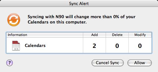 Sync Alert