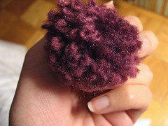my first pom pom!