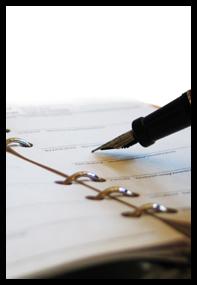 pen paper-adj