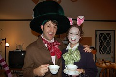 The March Hare and the Mad Hatter
