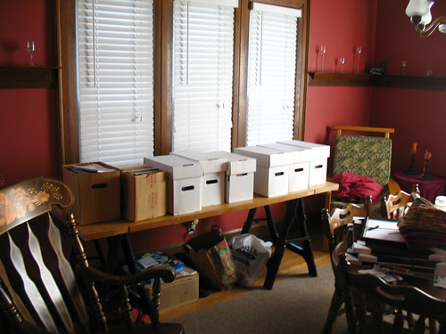 The great comic book purge begins!