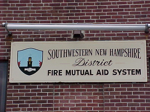 Fire Mutual Aid Sign