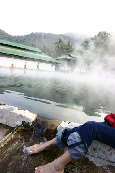 Hot Spring in Thailand