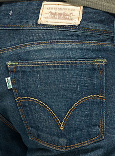Levi's 'green' jeans