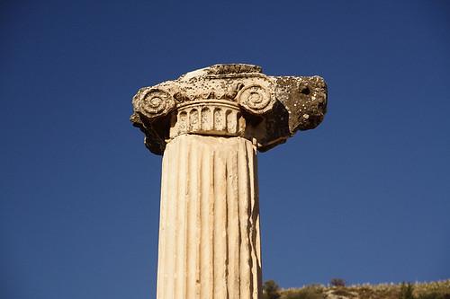 愛奧尼亞式柱頭