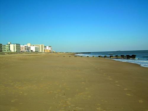 empty beach