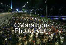 SG Marathon at the starting line..